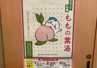 7月28日(水) 桃の葉湯